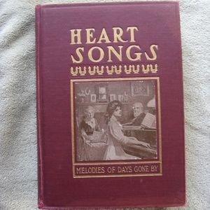 Other - Antique Book - Heart Songs